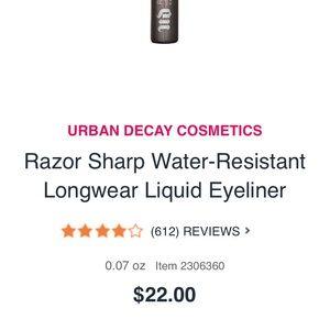 Urban Decay Liquid Eyeliner